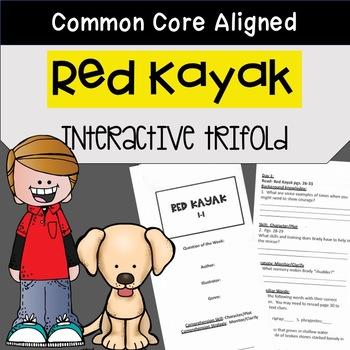 Red Kayak Trifold Worksheet (5th Grade Reading Street 2011