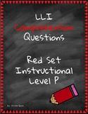 Red LLI Comprehension Questions