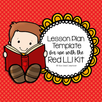 Red LLI Lesson Plan Template