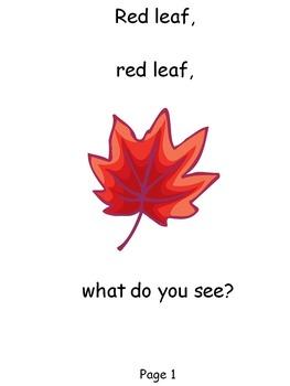 Red Leaf, Red Leaf Book