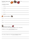 Red Leaf, Yellow Leaf Reading Activity (Story by Lois Ehlert)