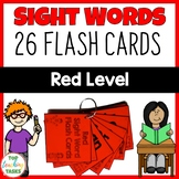 New Zealand Sight Words Red Level Flash Cards