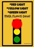 Red Light, Green Light Math Fluency Game