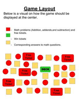 Red Light, Green Light Math Fluency Game