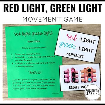 Red Light Green Light Movement Game Bundle