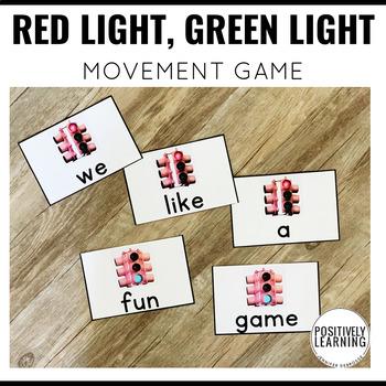 Red Light Green Light Movement Game