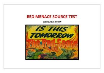 Red Menace Cold War Source Test