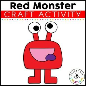 Monster Craft {Red Monster}