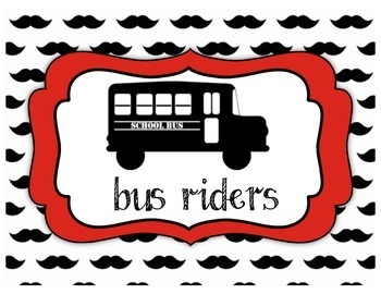 Red Mustache Transportation chart