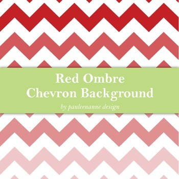 Red Ombre Chevron Background