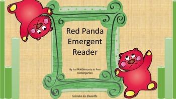 Red Panda Emergent Reader