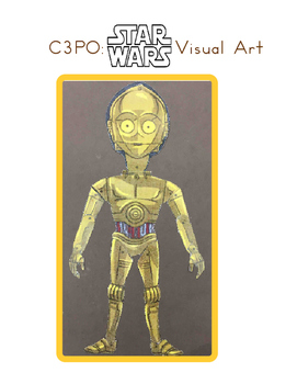 Red Pants Writing: C3PO Visual Art Sequence & Worksheets