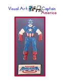 Red Pants Writing: Captain America Visual Art Sequence & W