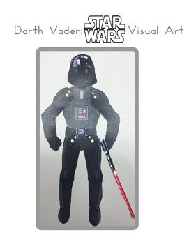 Red Pants Writing: Darth Vader Visual Art Sequence & Worksheets