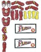 Red Pants Writing: Flash Visual Art Sequence & Worksheets