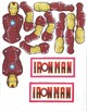 Red Pants Writing: Ironman Visual Art Sequence & Worksheets