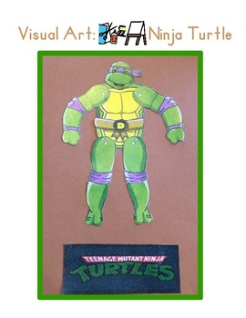 Red Pants Writing: Ninja Turtle Visual Art Sequence & Worksheets