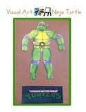 Red Pants Writing: Ninja Turtle Visual Art Sequence & Worksheets