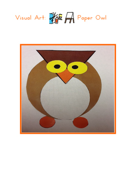 Red Pants Writing: Owl Visual Art Sequence & Worksheets