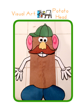 Red Pants Writing: Potato Head Puppet Visual Art Sequence & Worksheets