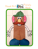 Red Pants Writing: Potato Head Puppet Visual Art Sequence