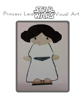 Red Pants Writing: Princess Leia Visual Art Sequence & Worksheets