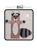 Red Pants Writing: Raccoon Puppet Visual Art Sequence & Wo