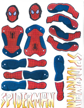 Red Pants Writing: Spiderman Visual Art Sequence & Worksheets