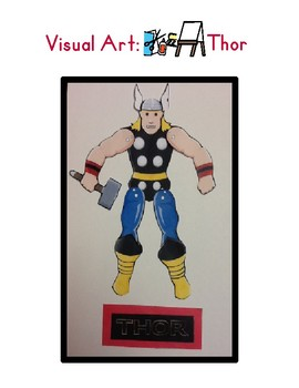 Red Pants Writing: Thor Visual Art Sequence & Worksheets
