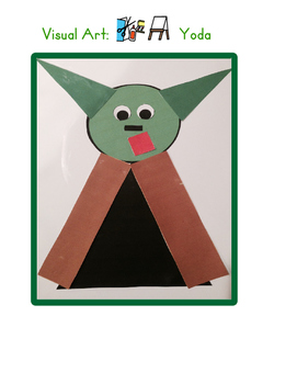 Red Pants Writing: Yoda Visual Art Sequence & Worksheets