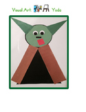 Red Pants Writing: Yoda Visual Art Sequence & Worksheets