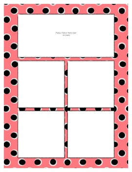 Red Pastel Sorting Mat Frames * Create Your Own Dream Classroom Daycare