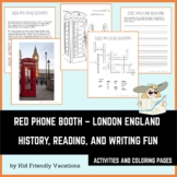 Red Phone Booth - London England - History, Facts, Colorin
