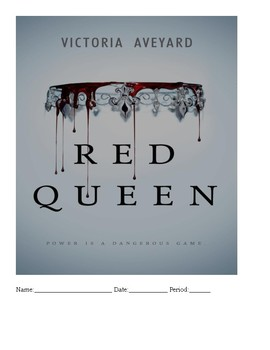 Red Queen Literacy Unit / Novel Study