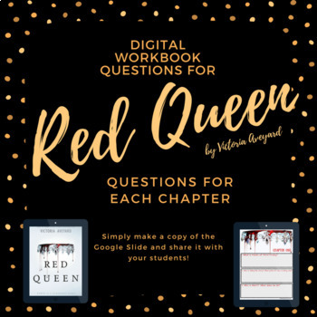 Red Queen by Victoria Aveyard Interactive Digital Chapter Questions
