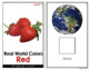 Red - Real Life Colors Adapted Book Bundle | Real Picture Color Books