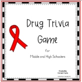 Red Ribbon Activity:  Drug Trivia Game