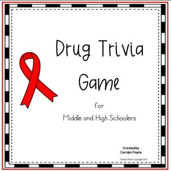 Red Ribbon Activity:  Drug Trivia Game
