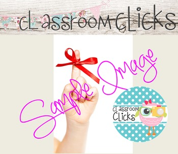 Red Ribbon Don't Forget Image_231:Hi Res Images for Bloggers & Teacherpreneurs