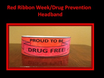 Red Ribbon / Drug Prevention Hat