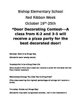 Red Ribbon Week