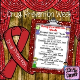 Drug Prevention Week Editable Flyer