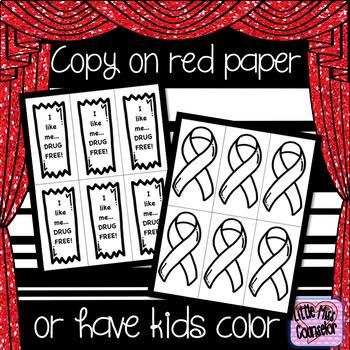 Red Ribbon Week 2017 Editable