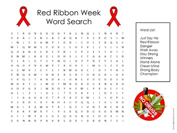 Red Ribbon Week Activity