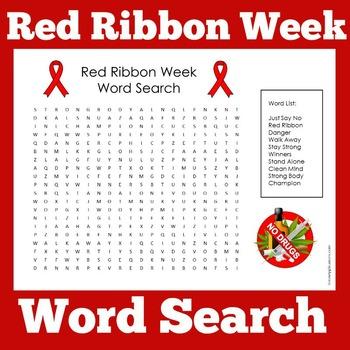 Red Ribbon Week Activity