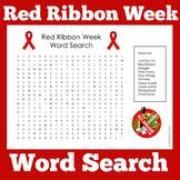 Red Ribbon Week | Worksheet Activity | Kindergarten 1st 2n