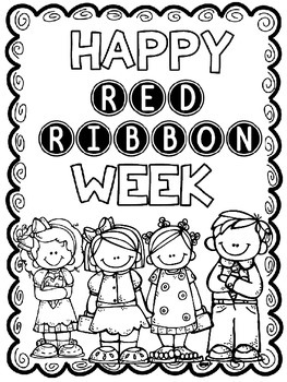 Clean image with regard to red ribbon week printable activities