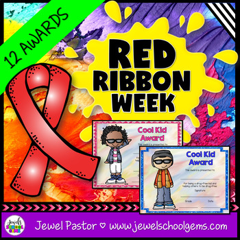 Red Ribbon Week Awards