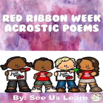 Red Ribbon Week Acrostic Poems