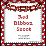Red Ribbon Week Activities:  Red Ribbon Scoot and More!